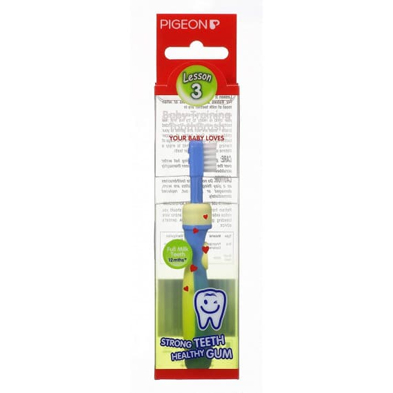 Pigeon Training Toothbrush Step 3 Blue