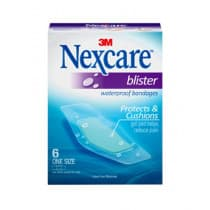 Nexcare Blister Waterproof Bandages 6 Pack
