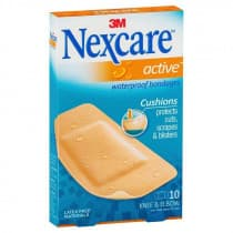 Nexcare Active Waterproof Bandages Large 10 Pack