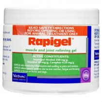 Virbac Rapigel Muscle & Joint Relieving Gel 250g (For Animal Use)