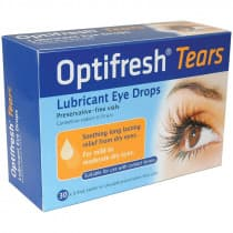 Optifresh Tears Lubricant Eye Drops 30 x 0.4ml
