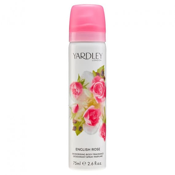 Yardley English Rose Body Spray 75ml