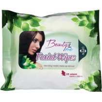 Beauty & Me Facial Wipes 25 Pack