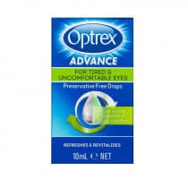 Optrex Advance For Tired Preservative Free Eye Drops 10ml