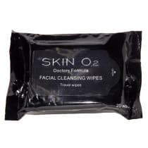 Skin O2 Facial Cleansing Wipes 20 Wipes