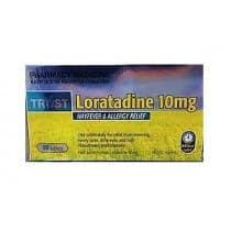 Trust Loratadine 10mg 10 Tablets