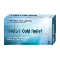 Trust Cold Relief 24 Tablets