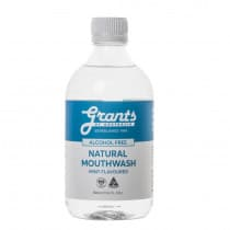 Grants of Australia Xylitol Natural Mouthwash 500ml