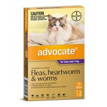 Advocate For Cat Over 4kg+ 3 Pack