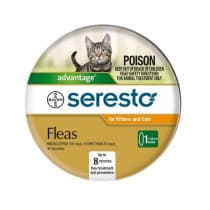 Seresto Fleas Collar For Kittens and Cats