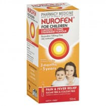 Nurofen For Children 3 Months to 5 Years Strawberry 50ml