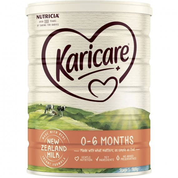 Karicare Plus 1 Infant Formula From Birth 900g