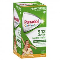 Childrens Panadol Suspension 5-12 Yrs Colour-Free Orange 100ml