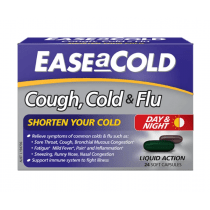 Ease A Cold Cough Cold & Flu 24 Liquid Capsules