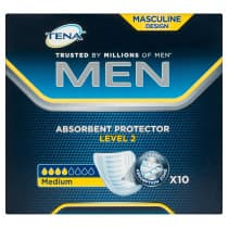 Tena Men Absorbent Protector Guard Level 2 10 Pack