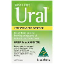 Ural Effervescent Powder Original 4g 8 Packs
