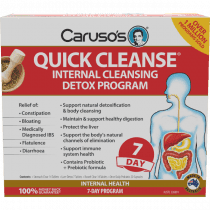 Carusos Quick Cleanse 7 Day Detox Program Kit