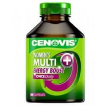 Cenovis Once Daily Womens Multi + Energy Boost 100 Caps