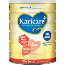 Karicare Plus Soy Milk All Ages Infant Formula From Birth 900g
