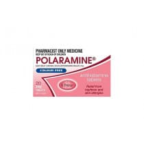 Polaramine 2mg 20 Tablets