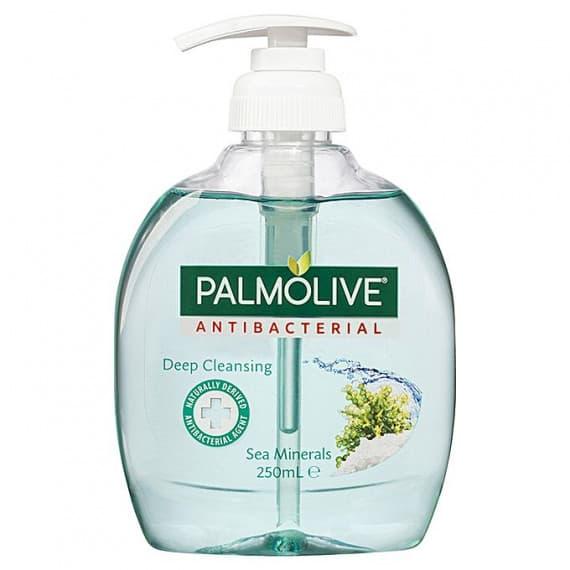 Palmolive Hand Wash Antibacterial Sea Minerals 250ml