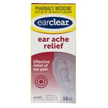 Ear Clear Ear Ache Relief Drops 15ml