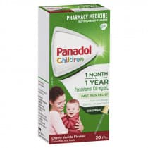 Panadol Children Baby Drops Colour Free 1 Month - 1 Year 20ml (inc. dropper)