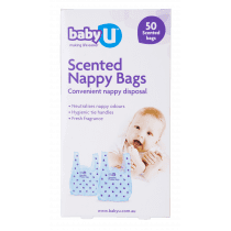 BabyU Nappy Bags 50 Pack