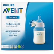 Avent Classic+ Feeding Bottle 260ml 3 Pack