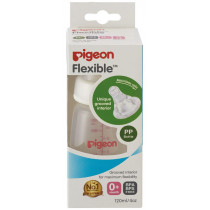 Pigeon Slim Neck Peristaltic PP Bottle 120ml