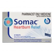 Somac Heartburn Relief 20mg 14 Tablets