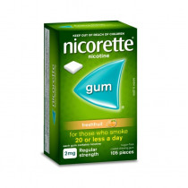 Nicorette Nicotine Gum Fresh Fruit 2mg 105 Pieces