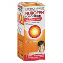 Nurofen Children 5 To 12 Years Strawberry 100ml