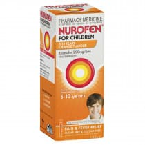 Nurofen Children 5 To 12 Years Orange 100ml