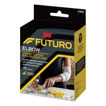 Futuro 47862ENR Comfort Elbow Support With Pressure Pads Medium
