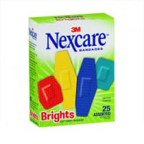 Nexcare Comfort Brights Bandages Assorted Strips 25