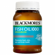 Blackmores Fish Oil 1000 Odourless 200 Capsules