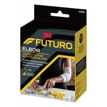 Futuro 47863ENR Comfort Elbow Support With Pressure Pads Large