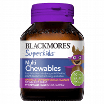 Blackmores Superkids Multi Chewables 60 Tablets