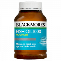 Blackmores Fish Oil 1000 Odourless 400 Capsules