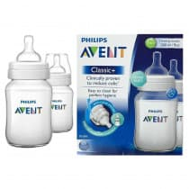 Avent Bpa Free Bottle 260ml Twin Pack
