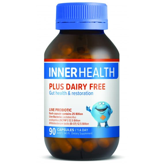 Ethical Nutrients Inner Health Plus Dairy Free 90 Capsules