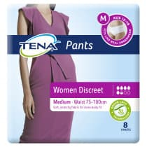 Tena Pants Women Discreet Medium 8 Pack