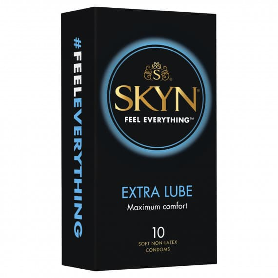 Skyn Extra Lube Condom 10 Pack