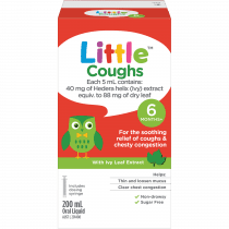 Little Coughs Original (With Ivy Leaf Extract) Oral Liquid 200ml