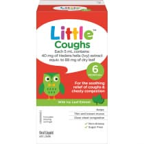 Little Coughs Original (With Ivy Leaf Extract) Oral Liquid 100ml
