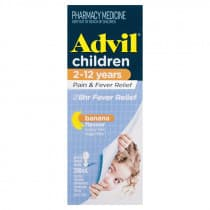 Advil Childrens Pain & Fever Relief 2-12 Years Suspension 200ml