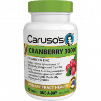 Carusos Cranberry 30000 30 Tablets