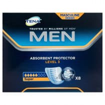 Tena Men Absorbent Protector Guard Level 3 8 Pack