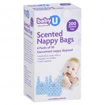 babyU Nappy Bags 200 Pack
